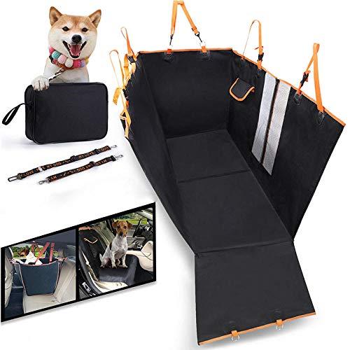 Ghongrm Producto para Perros Naranja Porta Perros para Coche para Perros y...