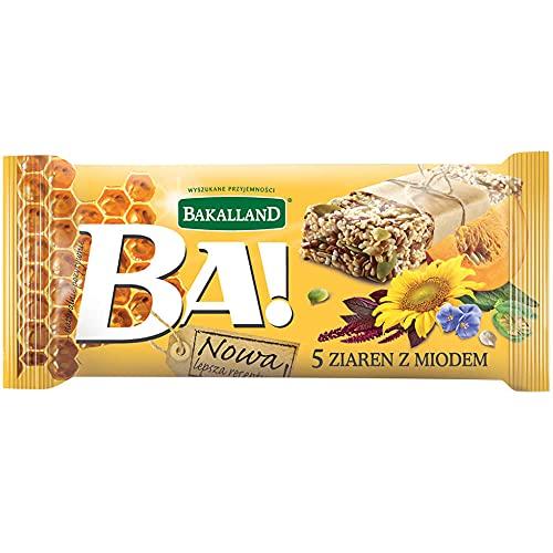 Bakalland Ba! Baton Zbożowy 5 Ziaren, 40 g