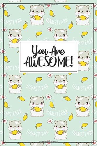 Hamster Gift - Hamster Journal: blank lined Hamster notebook for a hamster mom or hamster dad, hammy mom, hamster birthday party, hamster birthday ... diary, hamster gift for girls, hammy gift