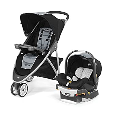 Chicco 04079747680070 Viaro Travel System with Stroller and Car Seat, Techna