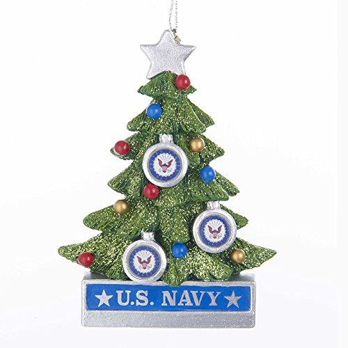 Kurt S. Adler Kurt Adler 4.5-Inch U.S. Navy Christmas Tree Ornament