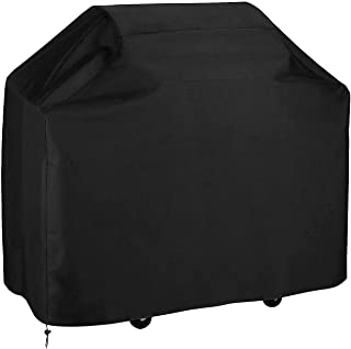 BBQ Cover - T Tersely 74 inch Durable Canvas BBQ Grill Cover,Waterproof Heavy Duty Fade Resistant Barbeque Cover Grill Pro...