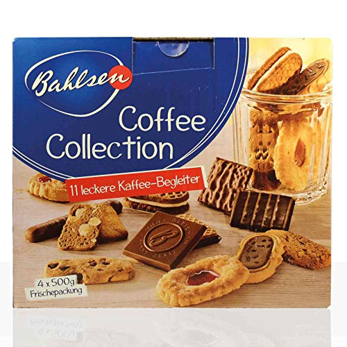 Bahlsen Coffee Collection Gebäck-Mischung 4 x 500 g