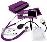 NCD Medical/Prestige Medical Kit manomètre anéroïde et stéthoscope double pavillon (Violet)