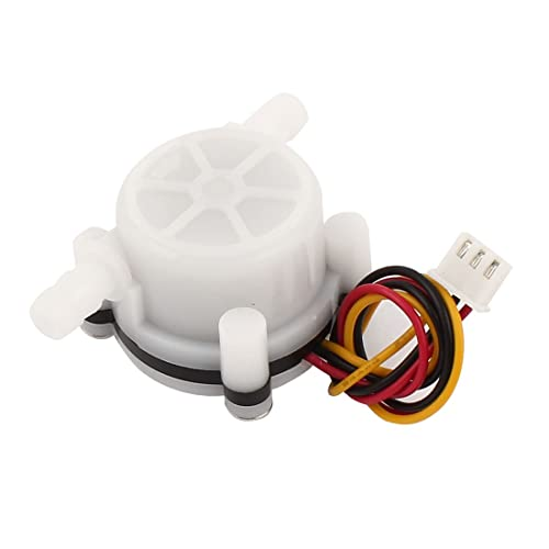 uxcell 0.1-3L/min 1.2Mpa 7mm Water Flow Hall Sensor Meter for Coffer Maker