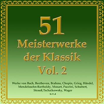 51 Meisterwerke der Klassik Vol. 2