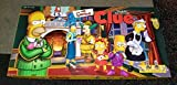 Simpsons The CLUE Board Game 1st Edition with Pewter Pieces