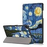 FANSONG Funda para Samsung Galaxy Tab A7 Tablet 10,4 Pulgadas 2020 (Modelo SM-T500/T505/T507) Delgada de Piel sintética con Función Atril Inteligente Samsung Tab A7 Carcasa para Infantil Niños