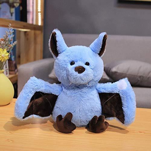 1 Stück 24 cm Fledermausgefüllte Spielzeug, dunkler Elf, niedlicher realistischer Fledermaus, weiches Spielzeug für Babys, schlafendes Spielzeug, Geschenk für Kinder Laimi