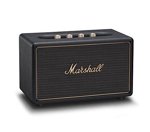 Marshall Acton Multi-Room Wi-Fi und Bluetooth Lautsprecher - Schwartz (UK)