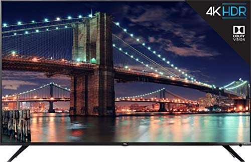 TCL 75R617-CA 4K Ultra HD Smart LED Television (2019), 75