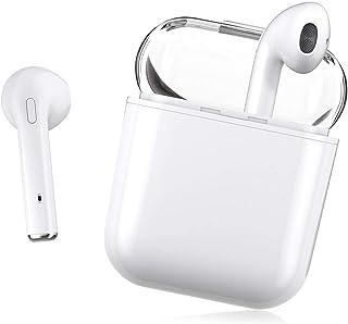 Auriculares Bluetooth 5.0, Auriculares inalámbricos, Control táctil, micrófono Incorporado y Caja de Carga, reducción de R...