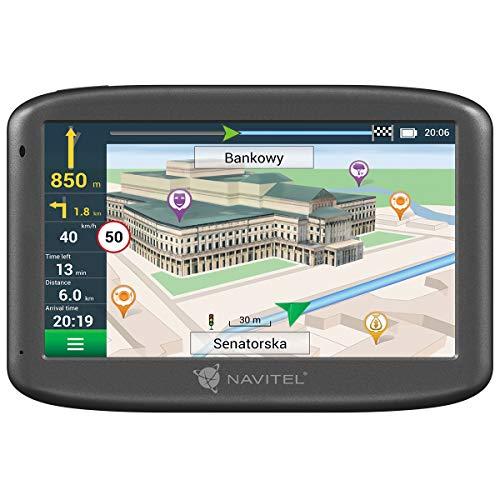Navitel E505M - Navegador GPS (Pantalla de 5 Pulgadas, mapas de Europa, con Soporte magnético