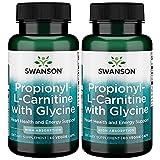 Swanson Propionyl L-Carnitine with Glycine - Gplc 60 Veg Caps 2 Pack