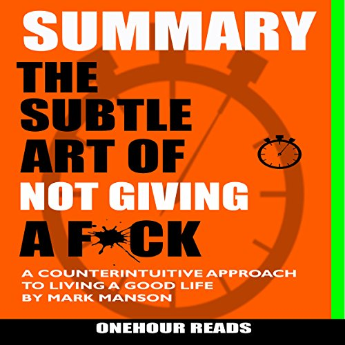 Summary: The Subtle Art of Not Giving a F*ck audiobook cover art