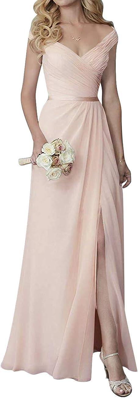 H.S.D Bridesmaid Dress 人気急上昇 V Neck Bridesma 卸売り Dresses Long Prom Evening