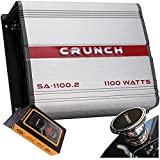 Crunch SA-1100.2 Smash Series 1,100-Watt 2-Channel...