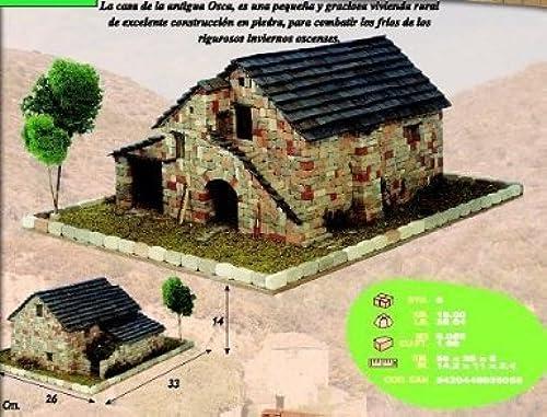 CUIT 3.605Rural Maison de Huesca, MultiCouleure