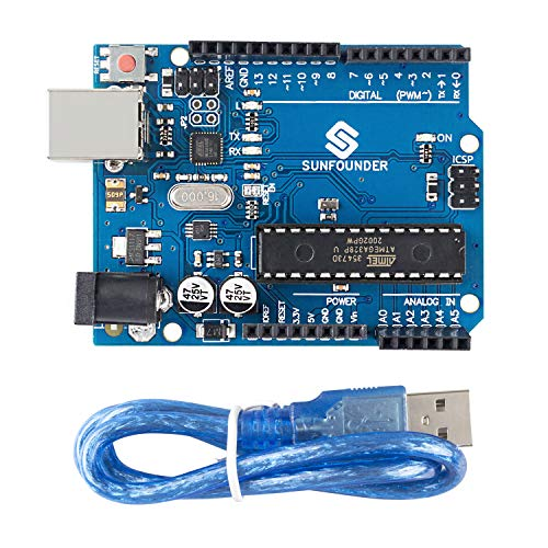 SUNFOUNDER Board para Arduino Uno R3 ATMEGA328P ATMEGA16U2