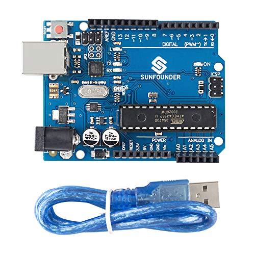 SUNFOUNDER Board für Arduino UNO R3 ATMEGA328P ATmega16U2