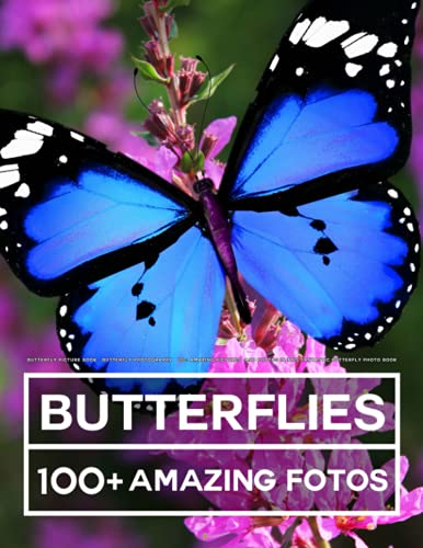 Butterfly Picture Book - Butterfly Photography: 100+ Amazing Pictures and Photos in this fantastic Butterfly Photo Book