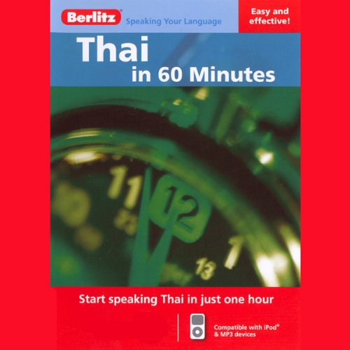 Thai...In 60 Minutes audiobook cover art