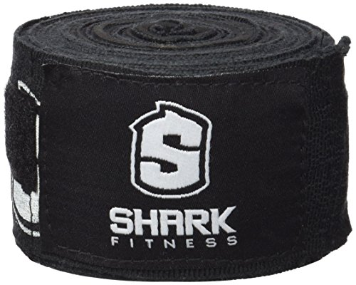 Sharkboxing VE06A - Venda con gel, color negro, talla única