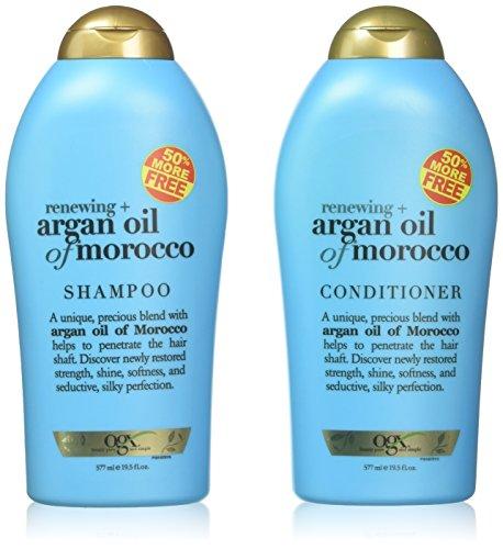 Price comparison product image OGX Organix Argan Oil of Morocco Shampoo & Conditioner Set (19.5 Oz Set)