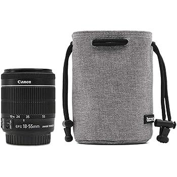 3pcs Neoprene DSLR Camera Padded Soft Pouch Case Set Small+Medium+Large