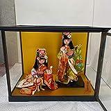 日本人形 お手まり 和風 着物 女の子 ケース