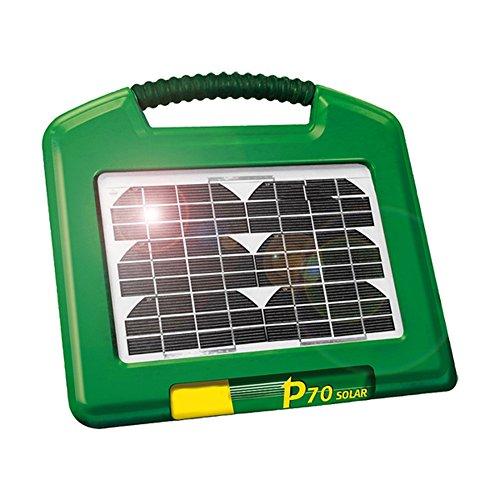p70 energizzante solare con integr. pannello solare 2.6 w +12v/7 batteria a gel ah - 140600