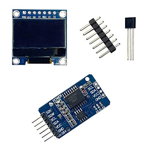 Experiment Starter Kit, Come with Precision Centigrade Temperature Sensors LM35 LM35DZ,DS3231 AT24C32 Clock Module(without Battery),OLED 128X64 Display for Arduino Raspberry Pi