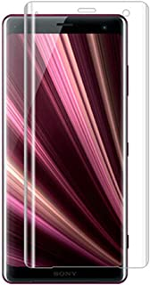 Sony Xperia XZ3 Screen Protector Curved Film, 2 Pack Case Friendly Tempered Glass HD Clear Bubble Free 9H Hardness Tempered Glass for Sony XZ3, [Anti Scratch] [Anti-Fingerprint]