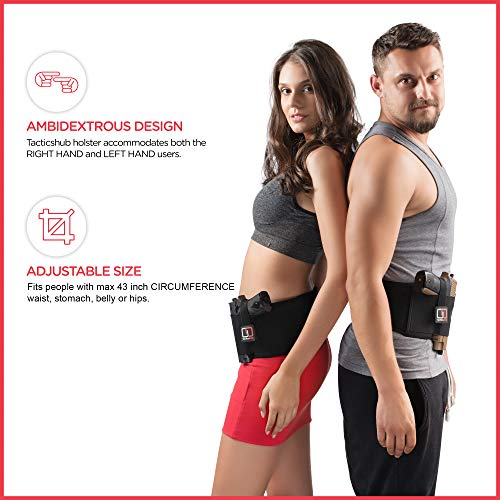 5. Tacticshub Belly Band Holster for Concealed Carry