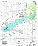 YellowMaps Lake Arthur LA topo map, 1:24000 Scale, 7.5 X 7.5 Minute, Historical, 1994, Updated 1996, 27 x 22 in - Tyvek