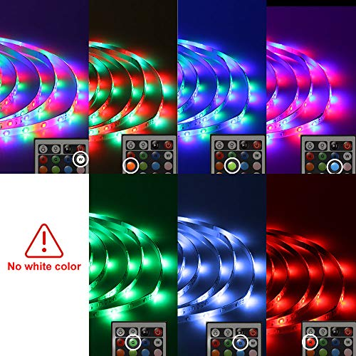 Daybetter SMD 3528 Led Strip Lights with 44 Key Remote( 2 Rolls of 16.4ft ) 4
