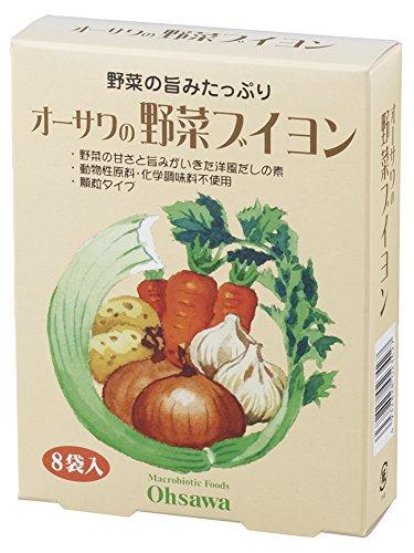 オーサワ オーサワの野菜ブイヨン 5gX8