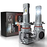 H7 LED Headlight Bulb, CAR ROVER 55W 10000Lumens Plug-N-Play Extremely Bright 6500K ZES Chips Conversion Kit