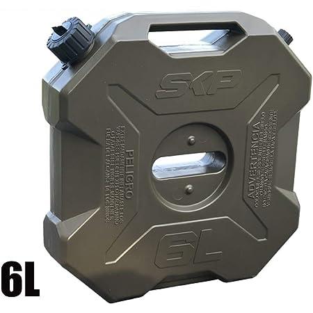 Wovelot 3 Liter Kraftstofftank Kunststoff Ersatz Benzintank Dosen Benzin Öl Container Kraftstoff Kanister Für Motorrad Atv Auto