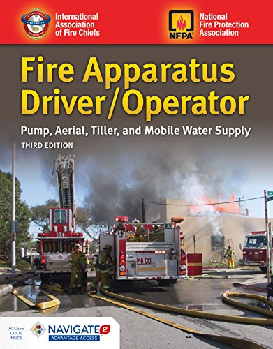 Fire Apparatus Driver/Operator: Pump, Aerial, Tiller, and Mobile Water Supply: Pump, Aerial, Tiller,
