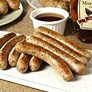 ミートガイ 手作り 生ソーセージ【メープルシロップ】100%無添加・砂糖不使用 (9本 約270g) Additive-free Non-Sugar Original Maple Syrup Breakfast Sausage