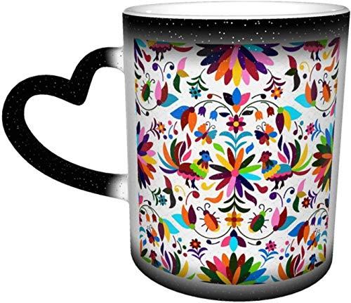 Taza cambiante de color sensible al calor en el cielo tazas de café taza de cerámica regalos personalizados para los amantes de la familia amigos