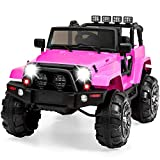 Best Choice Products 12V Ride On Car Truck w/ Remote Control, 3 Speeds, Spring Suspension, LED Light...