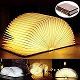 Lámpara de lectura plegable LED, lámpara de mesa o de escritorio, luz de lectura magnética, luz LED USB recargable, lámpara de mesita de noche portátil, luz decorativa, luz de ambiente, gran regalo