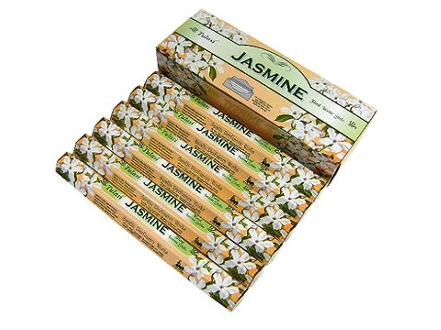 シンプルさ銅デクリメントTULASI(トゥラシ) ジャスミン香 スティック JASMINE 6箱セット