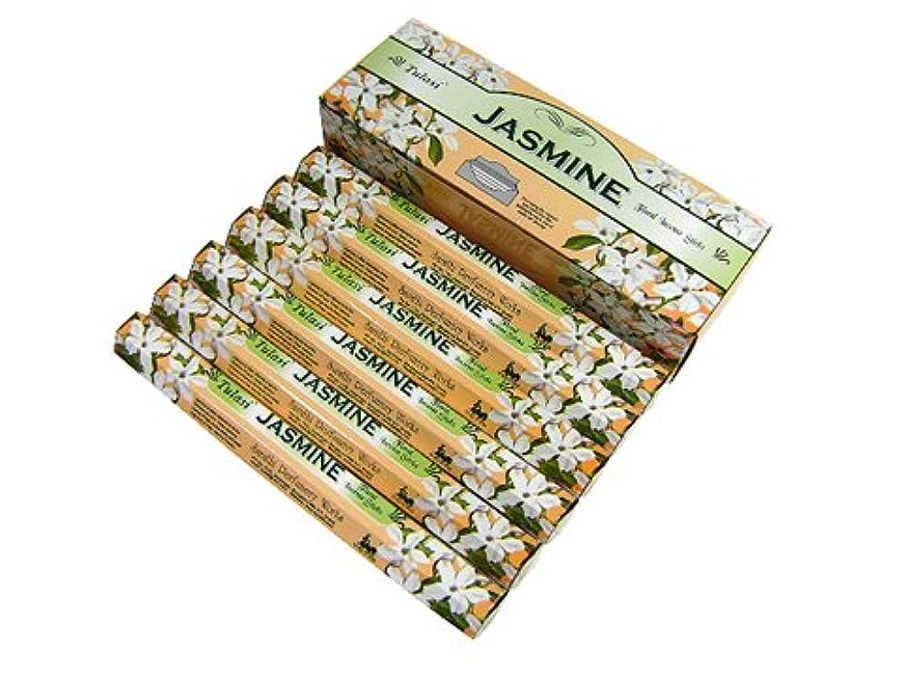収入ローマ人便利さTULASI(トゥラシ) ジャスミン香 スティック JASMINE 6箱セット