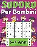 Sudoku Per Bambini 5-7 Anni: giochi da fare con i bambini, 200 puzzles di Sudoku tre livelli con istruzioni e soluzioni, Libro delle attività a caratteri grandi, regalo per ragazza e ragazzo