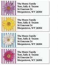 Daisy Small Return Address Labels (4 Designs) - Set of 240 2