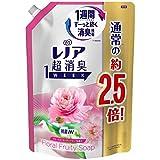 レノア超消臭 1WEEK フローラルフルーティーソープの香り つめかえ用 特大サイズ 980ml
