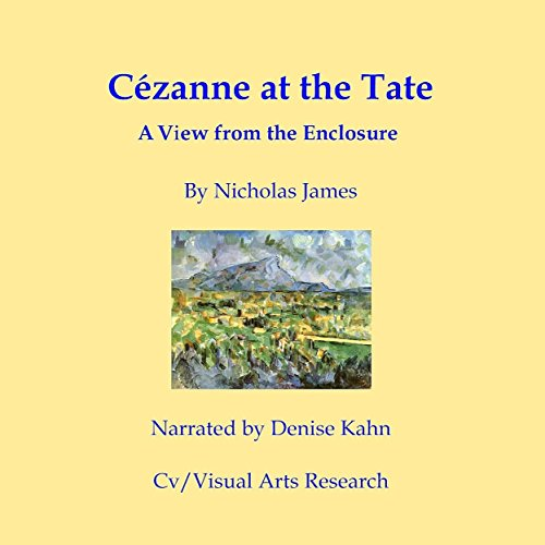 Cezanne at the Tate audiobook cover art